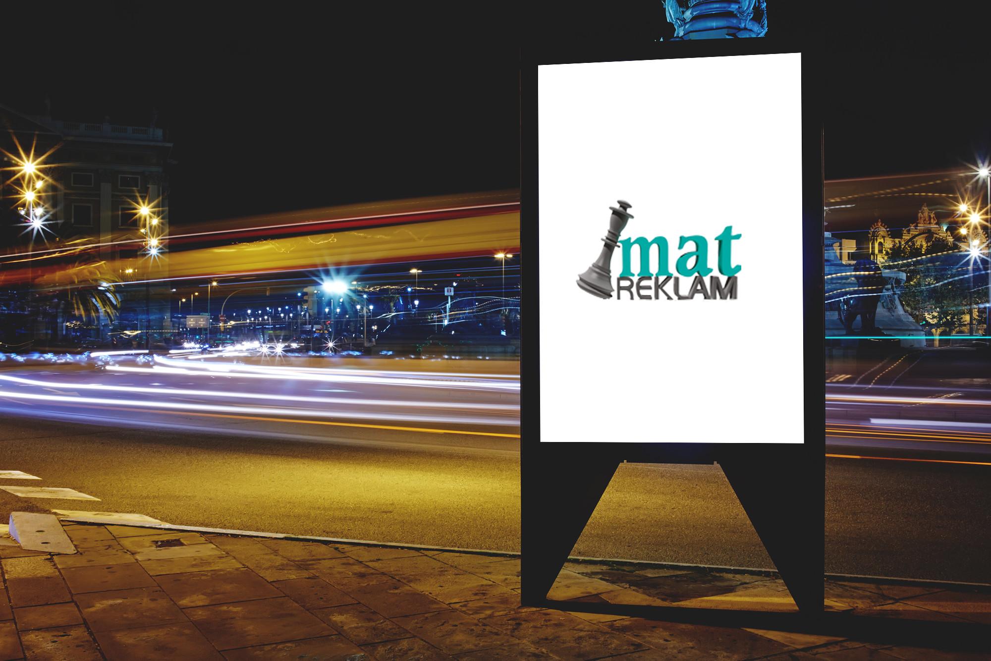 mat reklam yol billboard - branda - reklam - izmir bornova